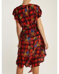 Preen Line - Red Ora Floral-print Dress - Lyst