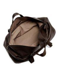 Bottega Veneta Brown Leather Holdall for men