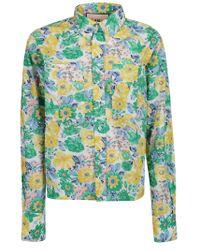 Plan C Multicolor Cotton Shirt
