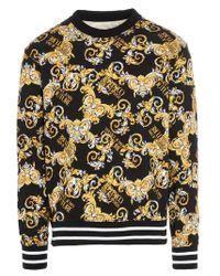 Versace Jeans BAUMWOLLE SWEATSHIRT in Multicolor für Herren