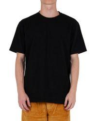 Futur BAUMWOLLE T-SHIRT in Black für Herren