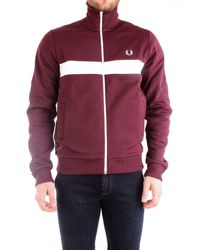 Fred Perry BORDEAUXROT JACKE in Multicolor für Herren
