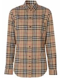 Burberry Natural Cotton Shirt
