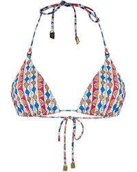 Tory Burch Red Multicolor Polyamide Lingerie & Swimwear