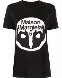 Maison Margiela Black BAUMWOLLE T-SHIRT