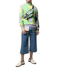 Versace Red Polyester Belt Bag for men