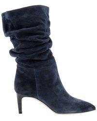 Paris Texas Blue Boots
