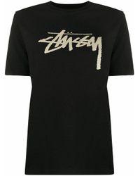 Stussy Black SCHWARZ T-SHIRT