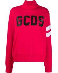 Gcds Embroidered Logo Sweatshirt