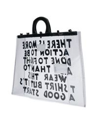 Maison Margiela Black WEISS TOTE