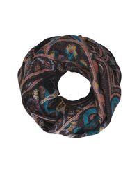 Etro Multicolor Wool Scarf