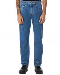 Ih Nom Uh Nit Blue Cotton Jeans for men