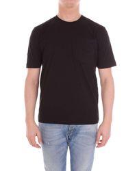 Love Moschino Black Cotton T-shirt for men