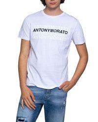 Antony Morato BAUMWOLLE T-SHIRT in White für Herren