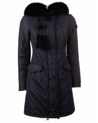 Peuterey Black Polyamide Outerwear Jacket