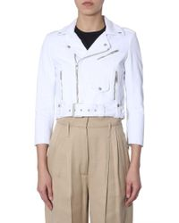 Givenchy Multicolor WEISS JACKE