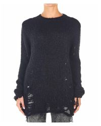 Thom Krom Black WOLLE SWEATER