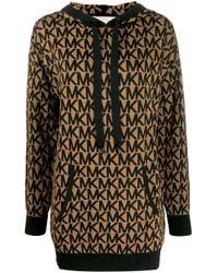 Michael Kors Brown Cotton Sweatshirt