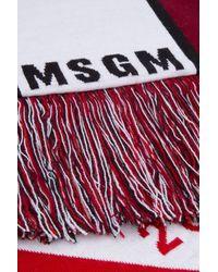MSGM Red WEISS SCHAL
