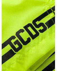 Gcds GELB BADEBOXER in Yellow für Herren