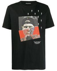 Neil Barrett SCHWARZ BAUMWOLLE T-SHIRT in Black für Herren