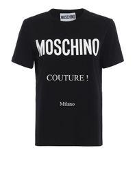 COTONE NERO di Moschino in Black