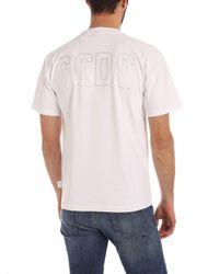 Gcds WEISS T-SHIRT in White für Herren
