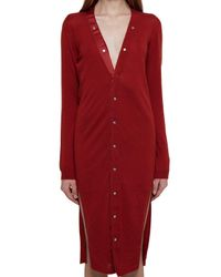 CASHMERE ROSSO di Rick Owens in Red