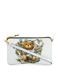 Moschino Multicolor WEISS POUCH