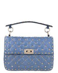 Valentino Blue Shoulder Bag