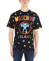 Moschino SCHWARZ T-SHIRT in Black für Herren