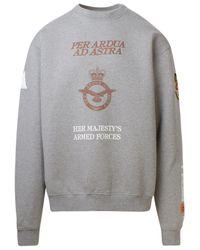 Heron Preston Gray Cotton Sweatshirt for men