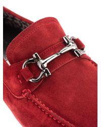 Ferragamo ROT MOKASSINS in Red für Herren