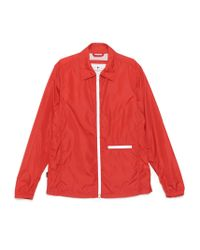 Woolrich Red Outerwear Jacket for men