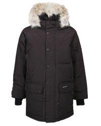 Canada Goose Black Polyester Coat for men
