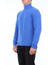 Heritage WOLLE SWEATER in Blue für Herren
