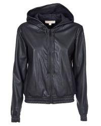 Michael Kors Black Polyester Outerwear Jacket