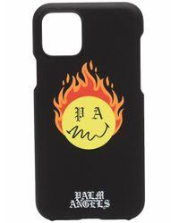 Palm Angels Burning Head iPhone 11 Pro-Hülle in Black für Herren