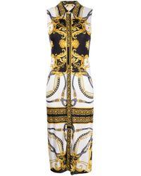 Versace Metallic MULTICOLOUR KLEID