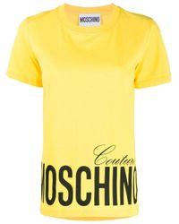 Moschino Yellow GELB T-SHIRT