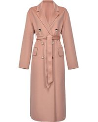 Pinko Natural Wool Coat