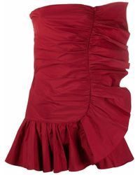 RED Valentino Red POLYESTER KLEID