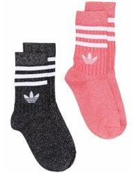 Adidas Multicolor Polyester Socks