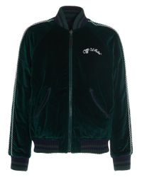 Off-White c/o Virgil Abloh Green Cotton Outerwear Jacket for men
