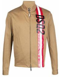 DSquared² Natural Cotton Outerwear Jacket for men