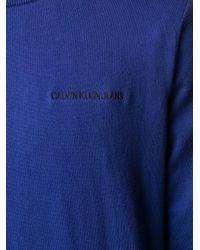 Calvin Klein BLAU SWEATER in Blue für Herren