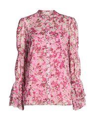 Michael Kors Pink Polyester Blouse