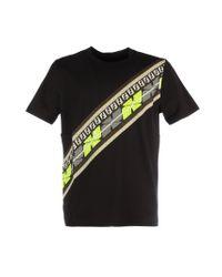 Fendi Black Cotton T-shirt for men