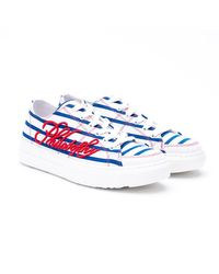 Philosophy White STOFF SNEAKERS
