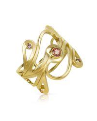 Sho London Metallic GOLD RING